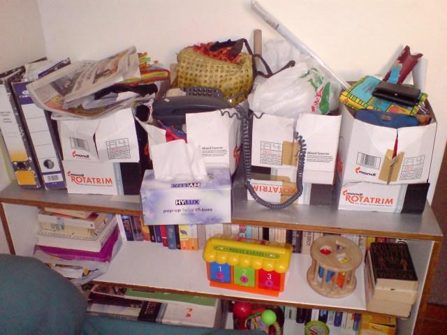 Disorganised is an Understatement